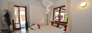 Camera da letto di villa Enrimar