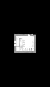 Planimetria di villa Lisidor