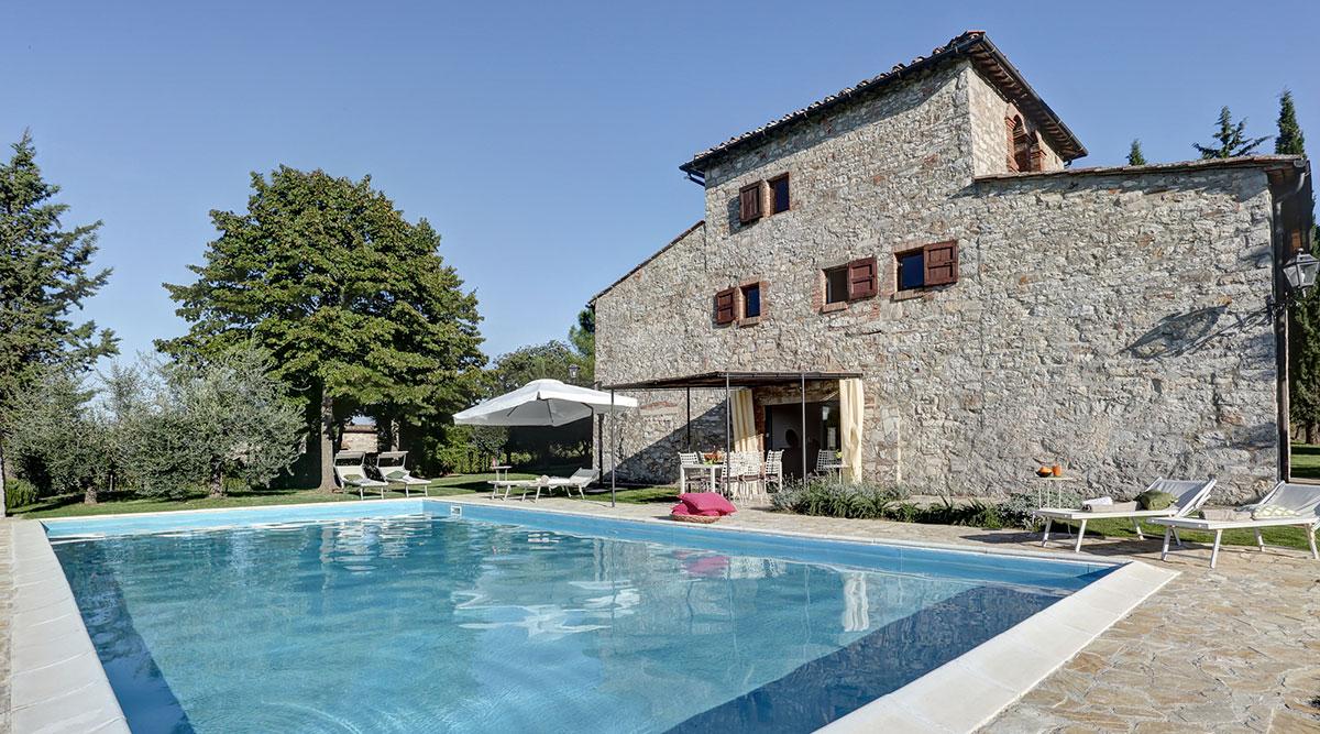Toscana villa LisiDor piscina