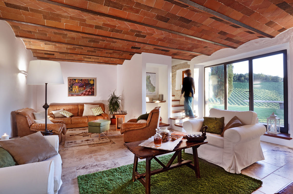 Toscana villa LisiDor interni