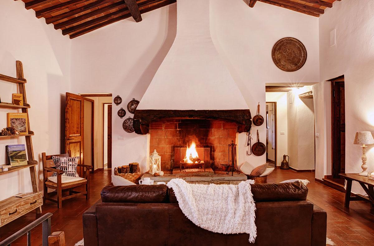 Toscana villa LisiDor sala