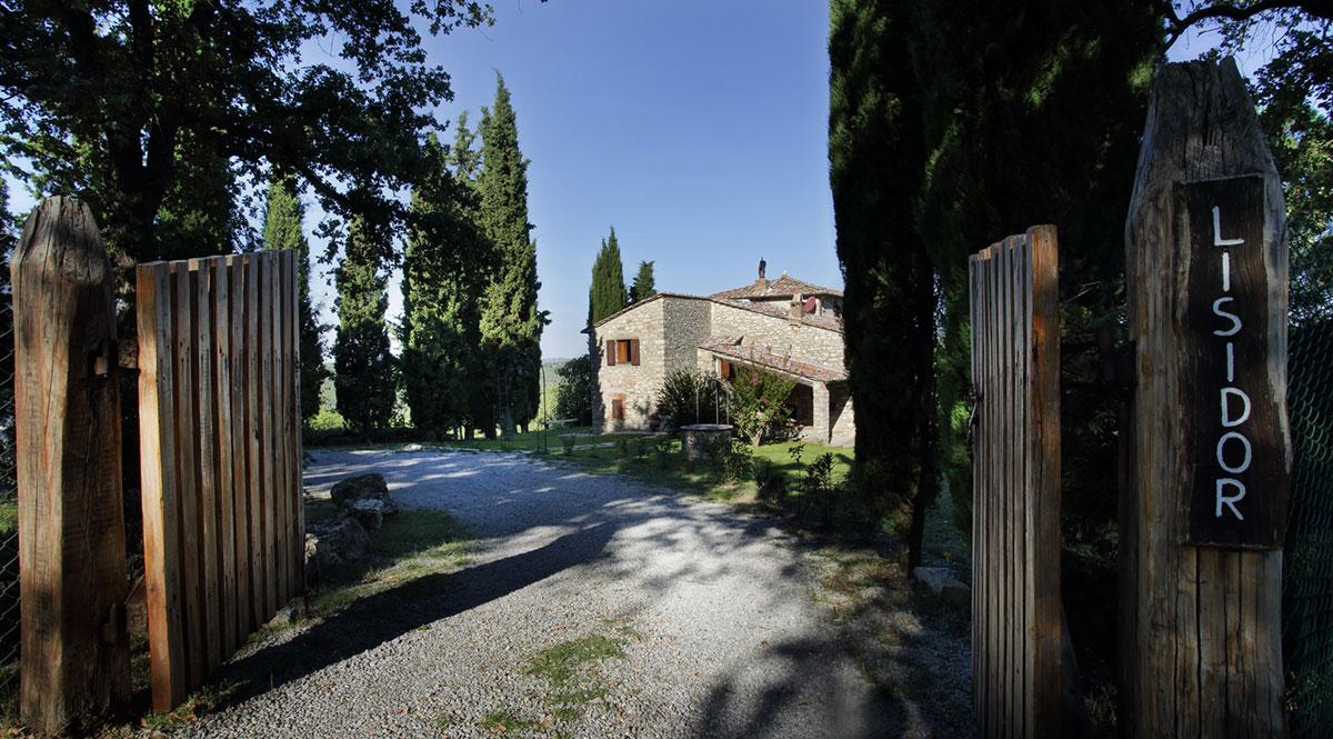 Toscana villa LisiDor ingresso