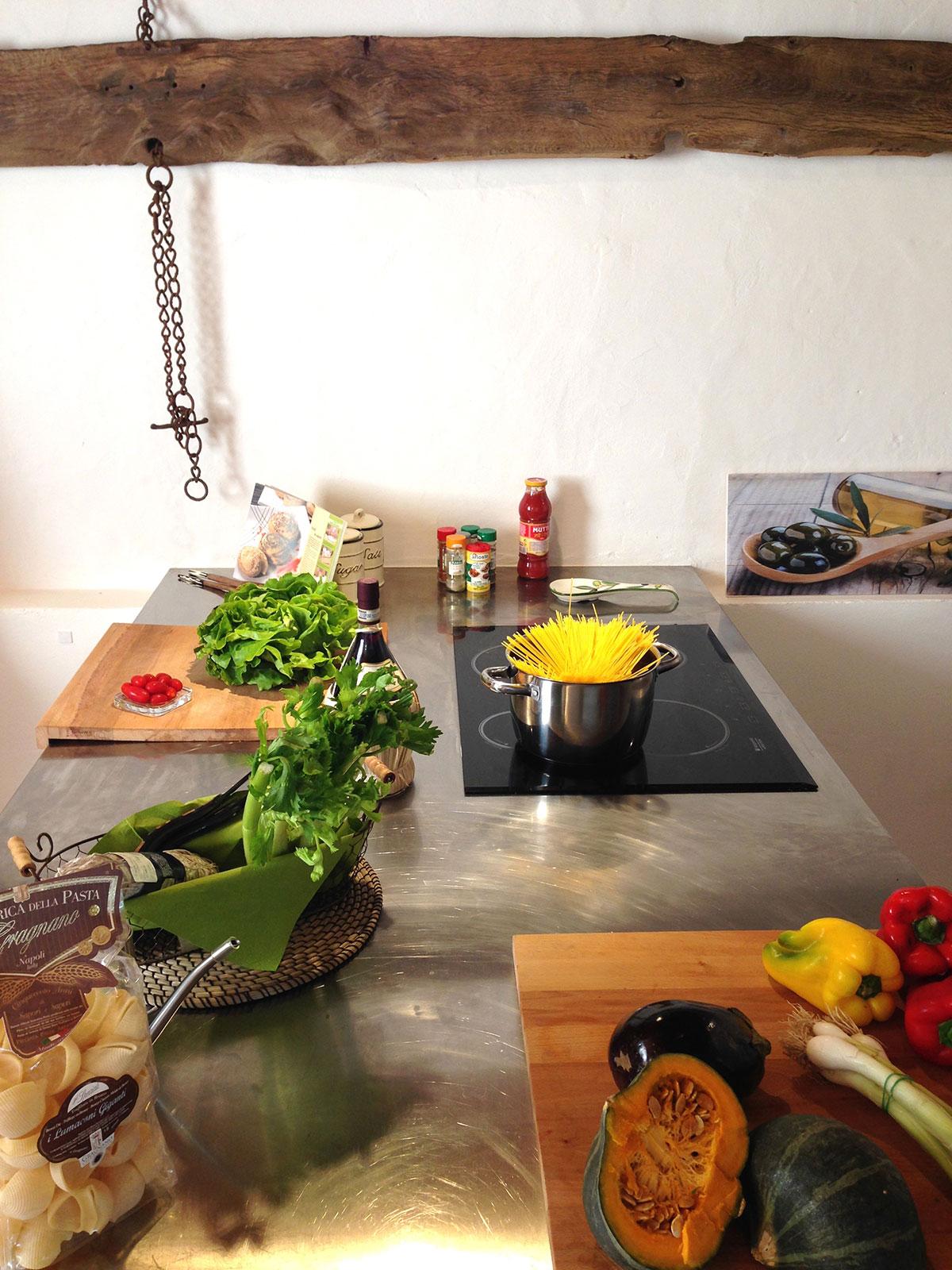 Toscana villa LisiDor cucina