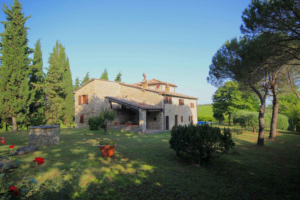 Toscana villa LisiDor esterno