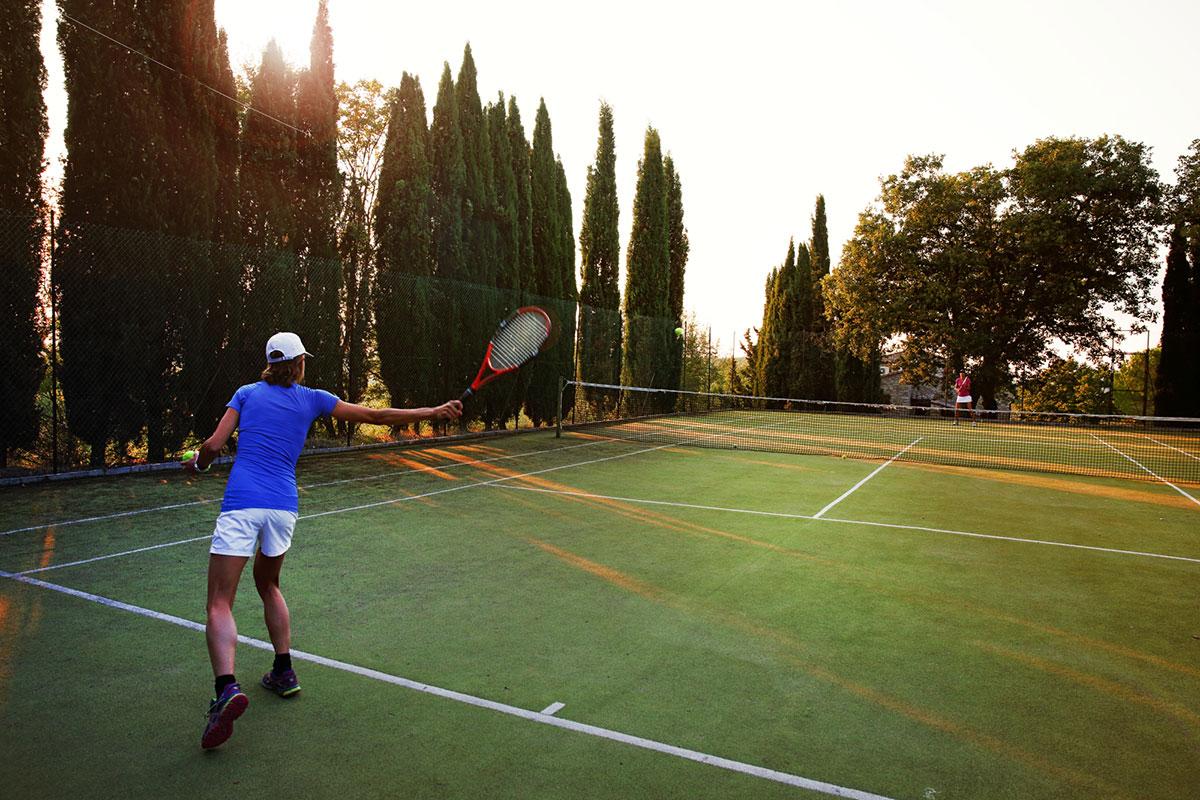 Toscana villa LisiDor campo tennis