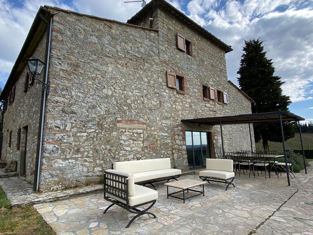 Villas LisiDor foto salottino esterno